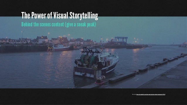 The Power of Visual Storytelling Hold short Q&A sessions Source: https://www.youtube.com/watch?v=Ryz-54KFCJ8Scissors https...