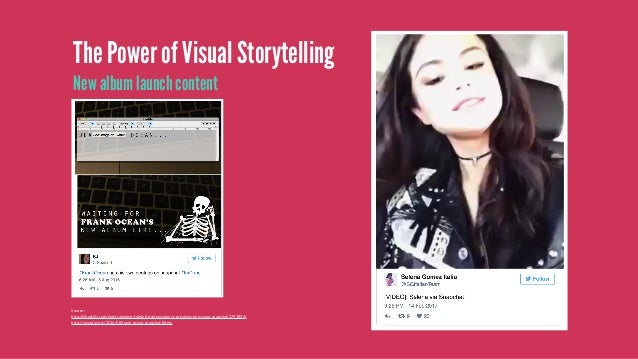 """The Power of Visual Storytelling Quizzes and games How it work: •Asked users to screenshot """"Bacon"""" • Posted five quick sna..."""