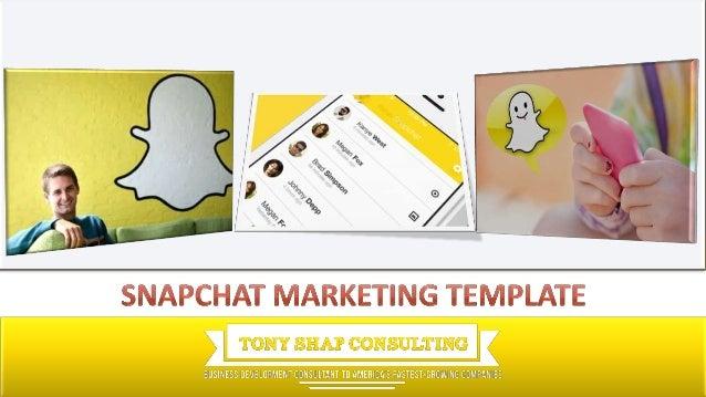 snapchat marketing template. Black Bedroom Furniture Sets. Home Design Ideas