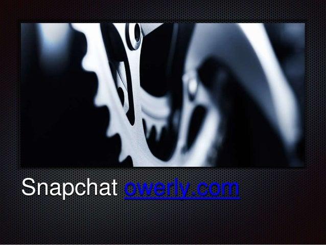 Snapchat owerly.com