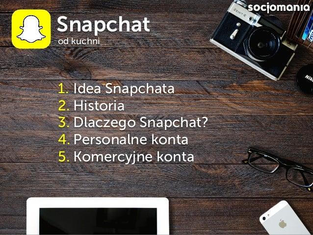 Jak działa Snapchat Slide 2