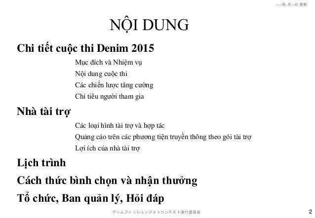 Snap denim dfpc_2015(fn)_Vietnamese Slide 2