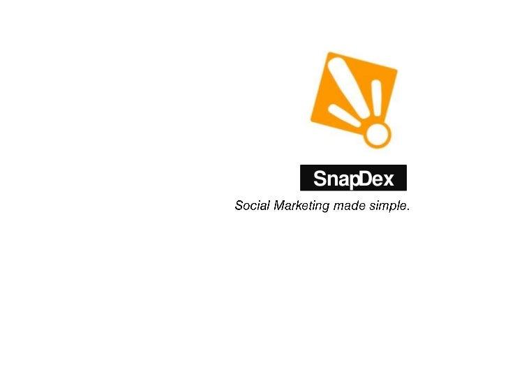 SnapDex