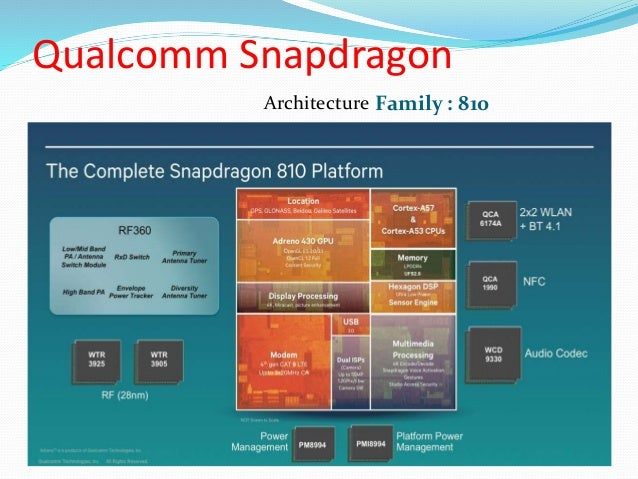 snapdragon soc and armv7 architecture