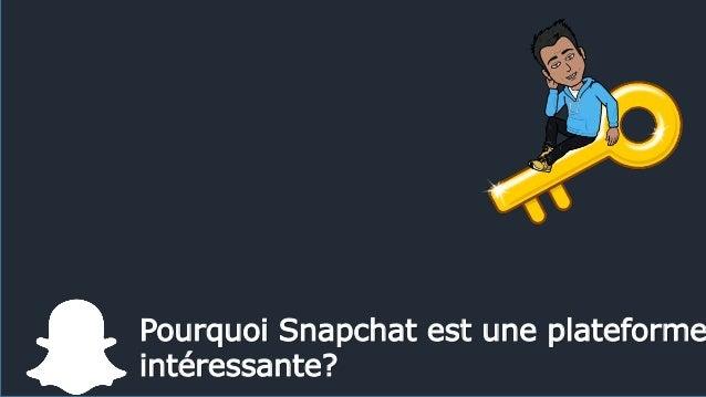 Pourquoi Snapchat est une plateforme intéressante?