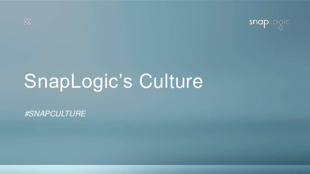 SnapLogic's Culture #SnapCulture