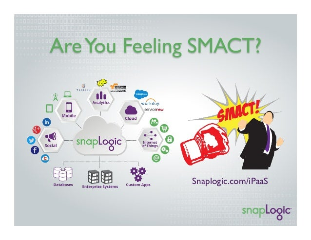 Are You Feeling SMACT?  Snaplogic.com/iPaaS