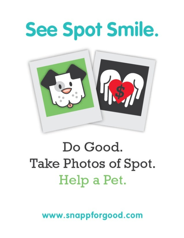 SnappforGood for pet charities