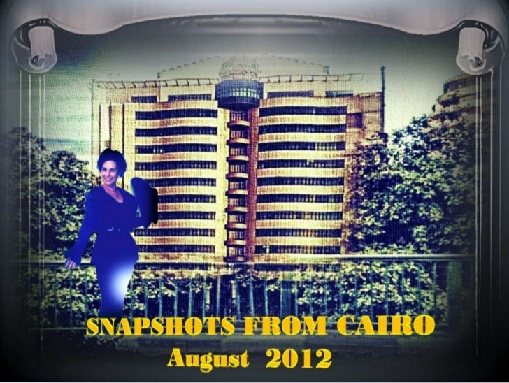 SNAPSHOTS - MOMENTS IN CAIRO