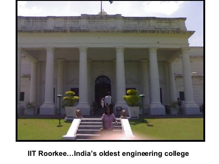 IIT Roorkee…India's oldest engineering college