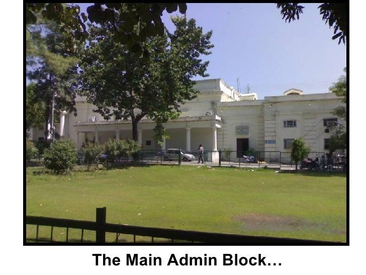 The Main Admin Block…