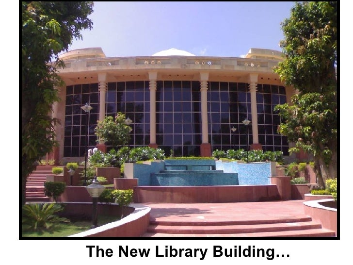 The New Library Building…
