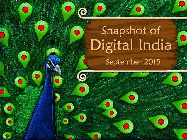 Snapshot of igital India September 2015  D
