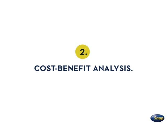 2. COST-BENEFIT ANALYSIS.