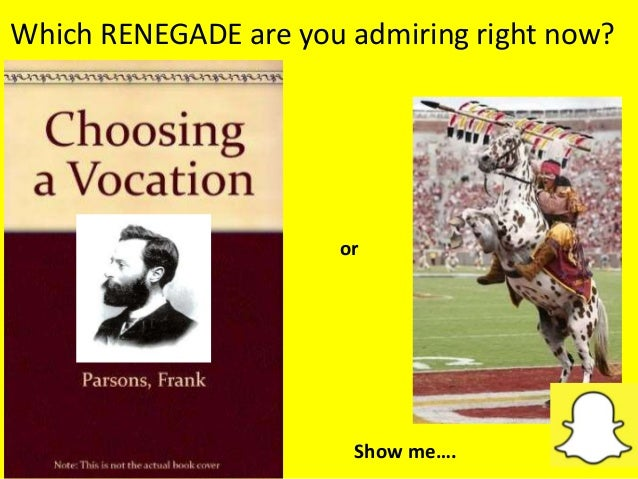 Which RENEGADE are you admiring right now? or Show me….