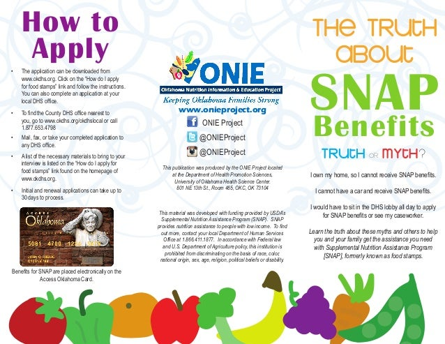 Oklahoma snap program