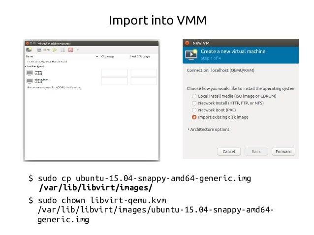 $ ifconfig $ sudo snappy install docker $ sudo snappy install snapcraft-daily.ted $ snapcraft-daily.snapcraft help Install...