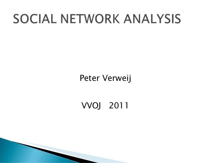 Peter Verweij VVOJ  2011