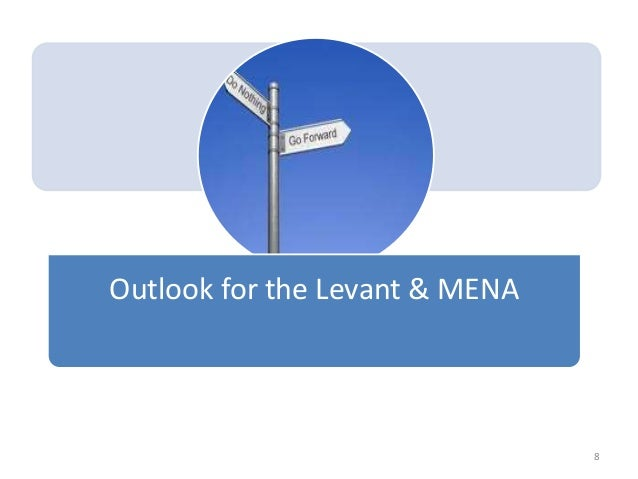 Outlook for the Levant & MENA 8