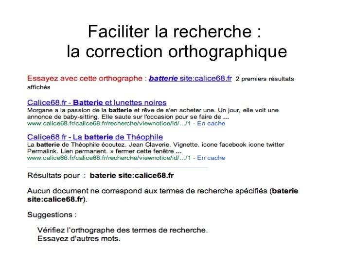 Catalogues Pour Les Usagers Du Web