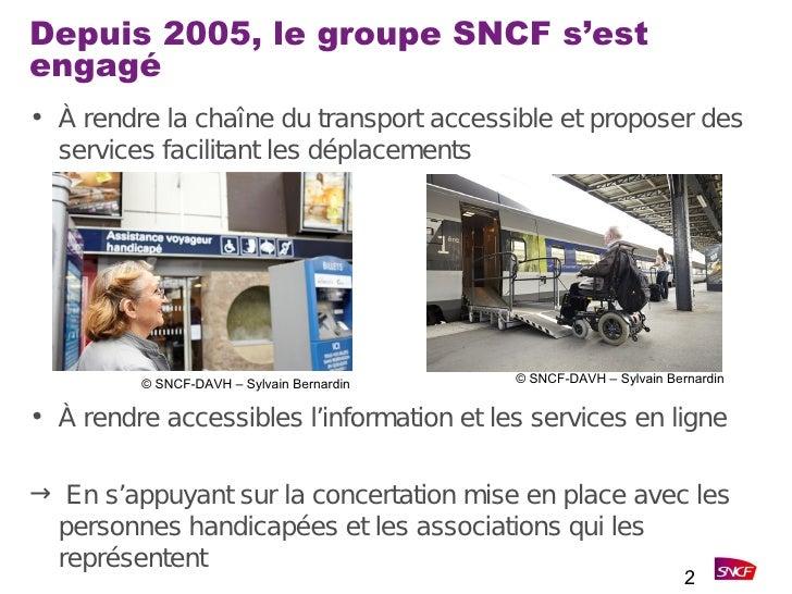 Parisweb - L'accessibilité vue d'un grand compte et comment la loi de 2005 a changé nos façons de travailler Slide 2