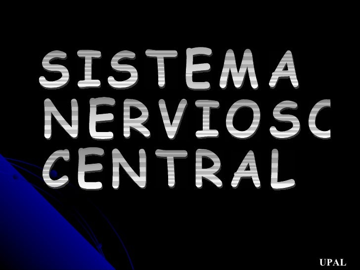 SISTEMA  NERVIOSO CENTRAL UPAL