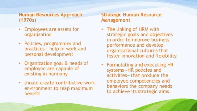 hrm policies in support of organizational objectives essay Development of policies to help reach the strategic plan's goals is the job of hrm after the policies have been think of the hrm strategic plan a written document that consists of the major objectives the organization wants to achieve as part of strategic planning, hrm should.