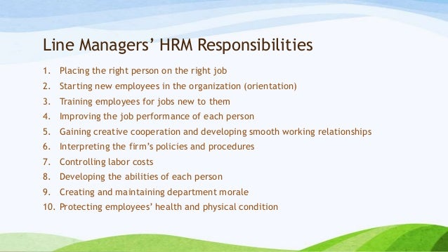 Managing People Human Resource Management for NGOs – Human Resources Manager Duties