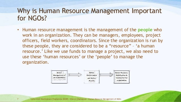 Importance of Human Resources Management in Health Care: a Global Context