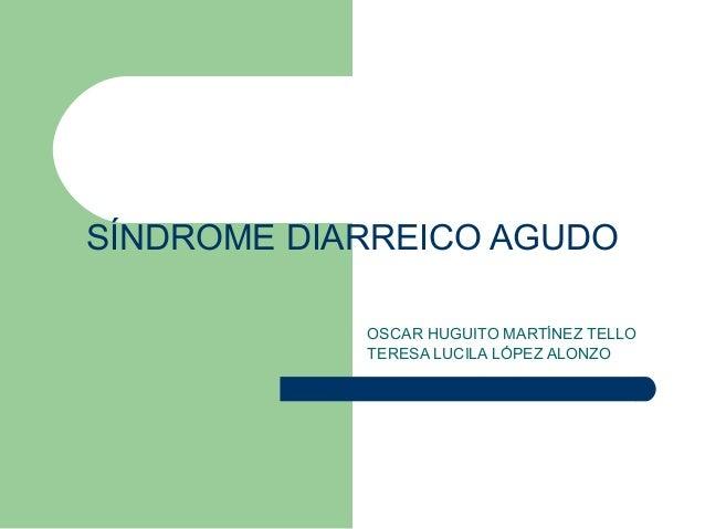 Sindrome diarreico agudo pediatria