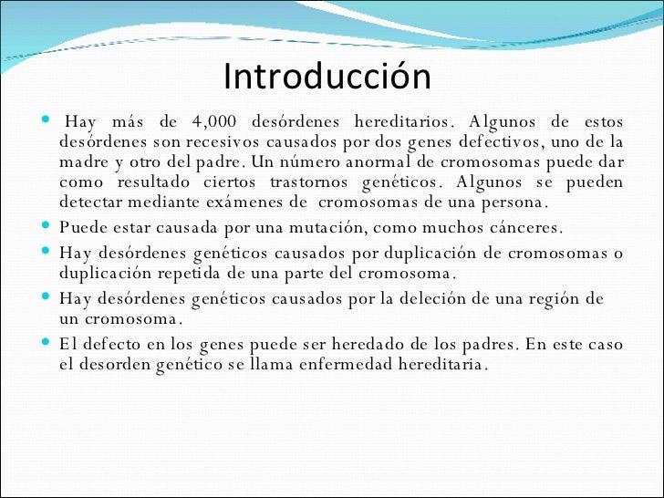 Síndrome GenéTico Slide 2