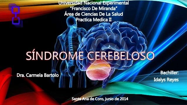 "Bachiller: Idalys Reyes Dra. Carmela Bartolo Santa Ana de Coro, junio de 2014 Universidad Nacional Experimental ""Francisco..."