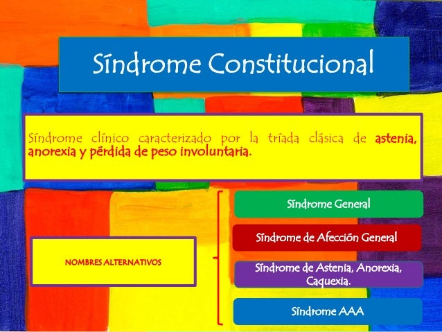 SINDROME CONSUNTIVO CAUSAS PDF DOWNLOAD