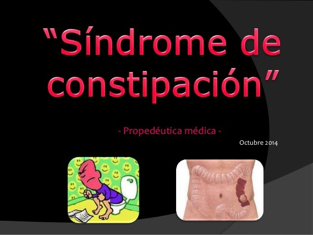 - Propedéutica médica - Octubre 2014