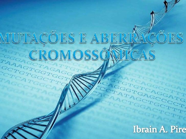  Alteração-DNA nº / estrutura; Novas Combinações ¨¬ não originam novos genes; Espontâneas:predisposição genética para ...