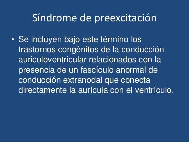 Síndrome de preexcitación Slide 2