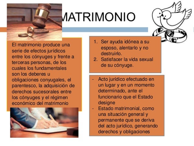 El Matrimonio Catolico Que Efectos Produce : Sociología jurídica i