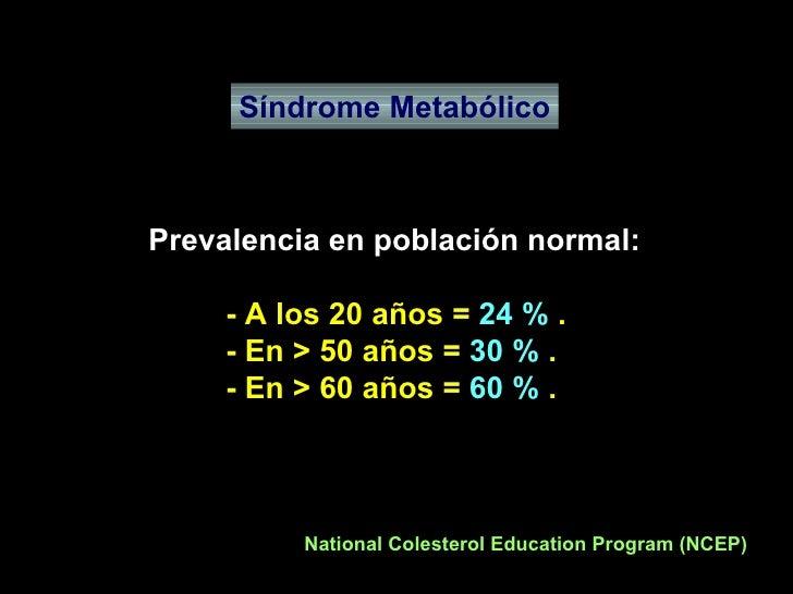 Sindrome Metabolico Slide 3