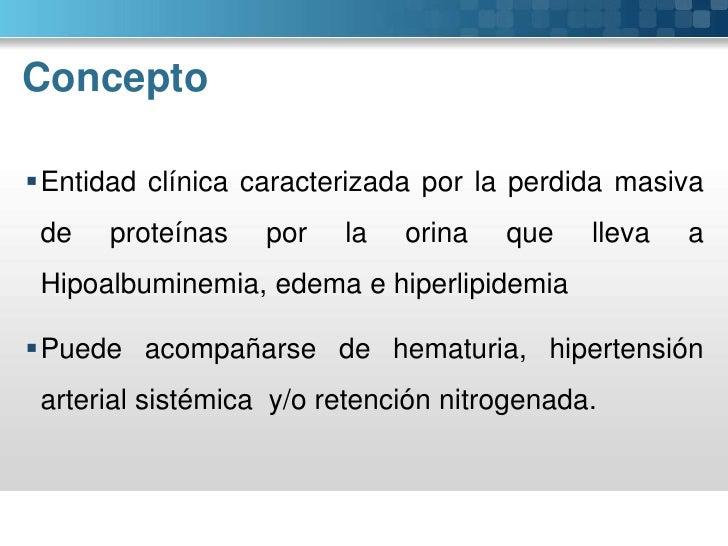Síndrome nefrótico Slide 2
