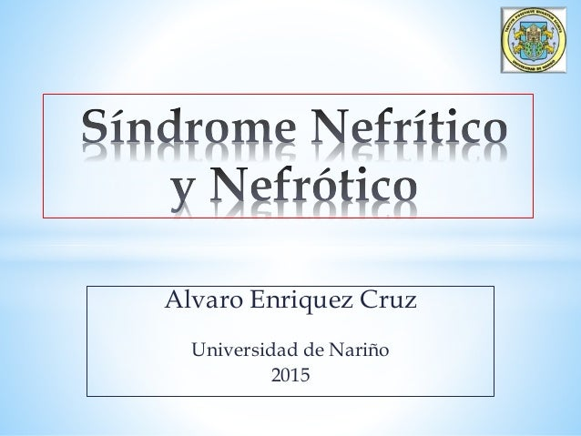 Alvaro Enriquez Cruz Universidad de Nariño 2015