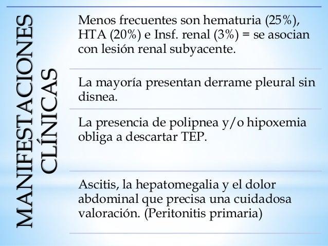 Tratamiento Corticoides: Ejercen una accion directa sobre: podocitos, celulas endoteliales, linfocitos T, macrofagos y cel...