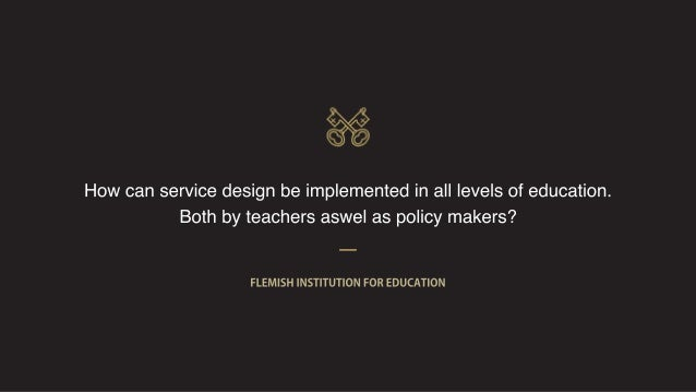 Sneaking Service Design into large organisations