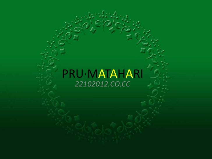 PRU·MATAHARI 22102012.CO.CC