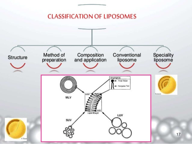 Liposomes-classification, methods of preparation and application.