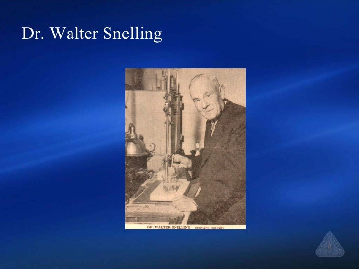 Dr. Walter Snelling