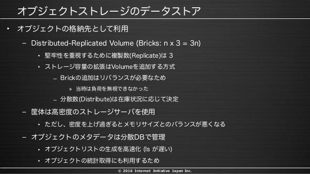 © 2016 Internet Initiative Japan Inc. • – • • – » – – • – • •
