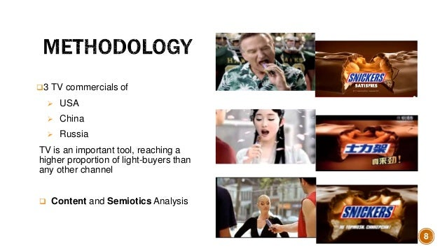 semiotic in tv commercials Process in the commercials that enhances the reliability and validity of semiotics as a tool of inquiry the data for the current study comprises television commercials broadcasted on famous pakistani television channels.
