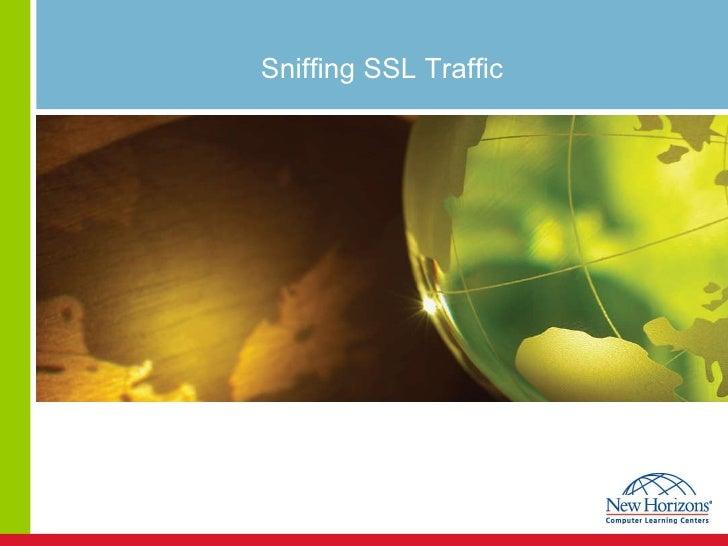 Sniffing SSL Traffic