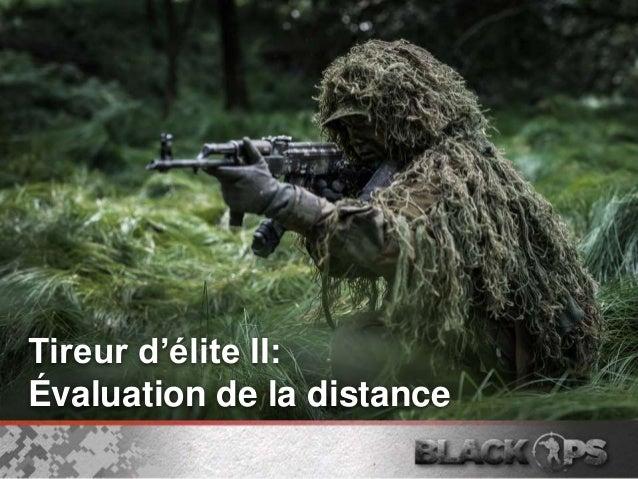 Tireur d'élite II: Évaluation de la distance