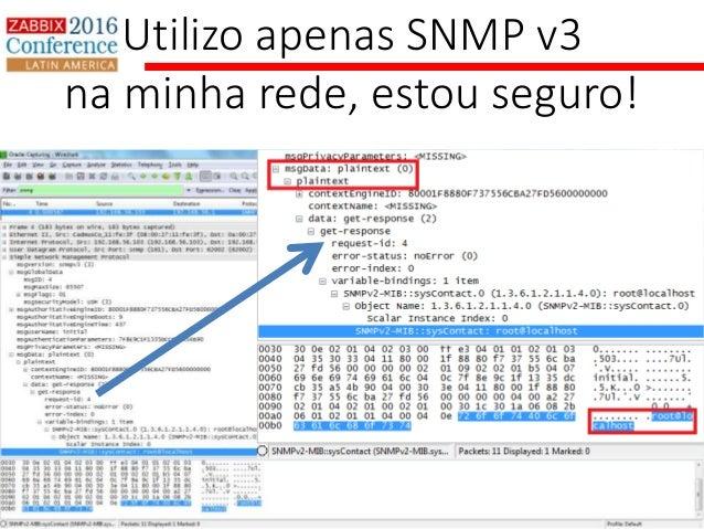 Zabbix e SNMP - Zabbix Conference LatAM 2016